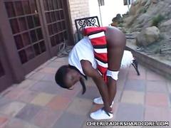 черни, момичета, африканки, сред природата