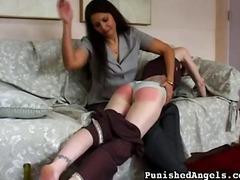 엉덩이 때리기, 페티시, 강압섹스
