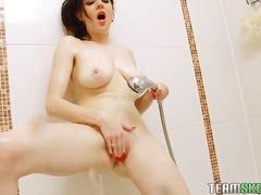 мастурбация, големи цици, бръснати, яки мацки