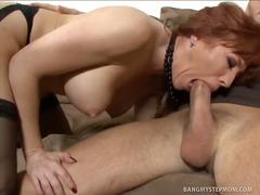 mature, babe, redhead, fingering, hardcore, facial, pornstar, oral, blowjob, milf