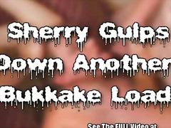 bukkake, hardcore, gangbang, creampies, redhead, facial, milf