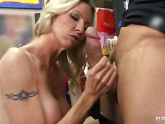 piercing, skinny, busty, blowjob, milf, hardcore, blonde, college