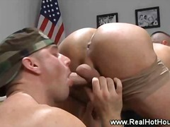 lick, gay, rimming, fingering, ass, uniform