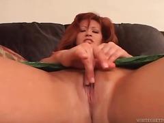 gros culs, masturbation, rousses