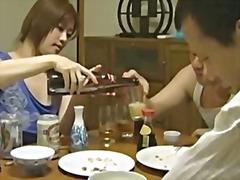 asiatiska, hårdporr, ansiktsprut, oralt, japansk, avsugning
