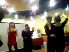 नृत्य, कामोत्तेजक, पार्टी, एशियन