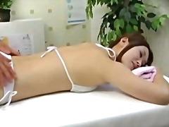 олио, масаж, пръсти, воайор, азиатки, оргазъм