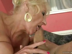 granny, movies, old, petting, trainer, lady, fucking
