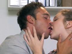 कामुक, नंगी, चुम्बन, पोर्नस्टार