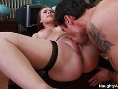 natürliche brüste, titten, pussy, oral, schule, doggy-style, party, großbusig