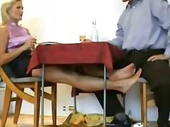 熟女, 脚フェチ, ペニス