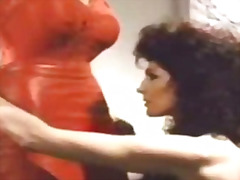pussylicking, head, big, kissing, red, classic, retro, scene, tease, latex