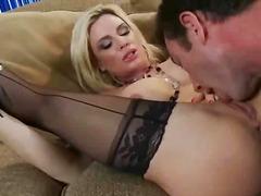 Diamond Foxxx, pornstar, big cock, stocking, blowjob, big, natural boobs, big ass, boobs, oral