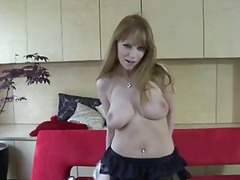 solo, euro, natürliche brüste, monstercock, schule, pussy, große brüste, titten, reif, strip