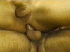 guy, fucking, handjob, bareback, masturbation, big ass, penis, doggy-style, behind, penetration