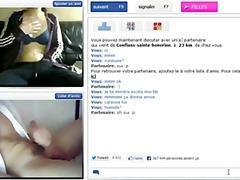 мастурбация, французойки, уеб камера, близък план