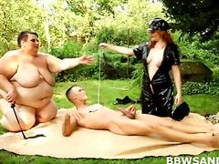 slave, mistress, hardcore, outdoor, dominatrix, big ass, domination, threesome, fat, chubby
