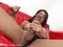 tits, stroking, big, big cock, cock, masturbation, big boobs, monstercock, handjob, jerking