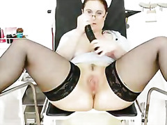 masturbation, boobs, cunnilingus, shaved, big boobs, milk, exam, juicy, fingering, internal