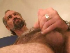 solo, masturbation, hunk, mature, bear
