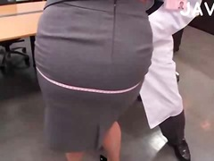 азиатки, голям кур, японки, офис, големи цици, сливи