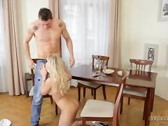 big ass, handjob, stroking, jerking, cock, ejaculation, penis, monstercock, blonde, big cock