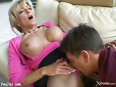 mature, boy, fucking, teacher, blonde, mom
