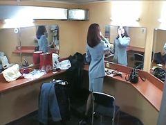 隠しカメラ, 褐色美人, ストッキング, 覗き見, ブーツ, スパイ