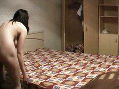 домашно видео, легло, скрит, пухкави, воайор