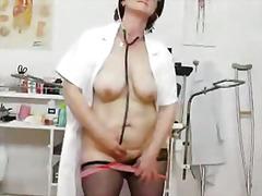 униформа, медицински сестри, сливи, близък план