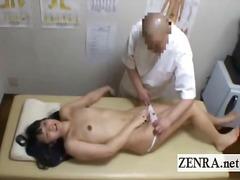 shemale, schüchtern, handjob, fetish, massage, ladyboy, asien, japanisch