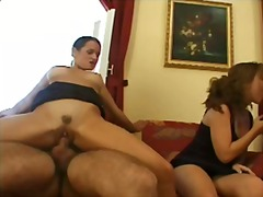 anal, group, gape, double, gaping, cumshot, penetration