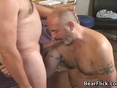 bear, ass, fingering, oral, anal, condom