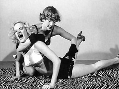 lesbisch, vintage, klassisch, bondage, fetish, female domination, babe, erotik