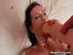 rough, double, brunette, bbw, hardcore, fisting, anal, extreme