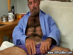 wanking, masturbation, gay, solo, bear