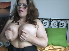 horny, milf, mature, tasty, plump, masturbation, mom
