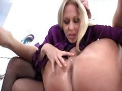 strapon, lick, femdom, mom, ass