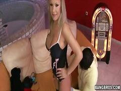 Джесика Мур, блондинки, голям гъз, цици