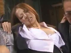 шибане, секретарки, масов секс, азиатки