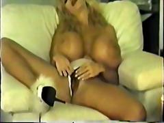 мастурбация, блондинки, играчка, големи цици