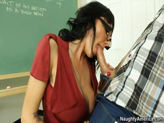 tits, titjob, big, teacher