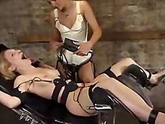 lesbiske, dominering, bondage, kvindelig dominans, bdsm