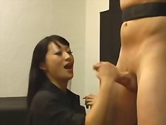 female domination, asien, angebunden, realität, dominanz, cumshot, masturbieren, hausgemacht