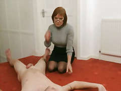 euro, group, mature, cfnm, milf, humiliation, jerking, europeans, voyeur, handjob