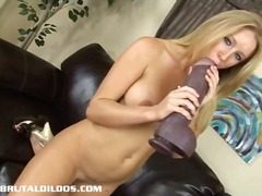 solo, insertion, masturbation, europeans, toys, dildo, brutal, kink, blonde