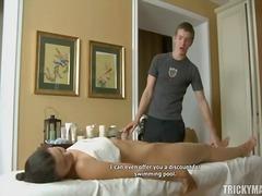 huile, érotiques, massage