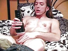 裸, イケメン男, ゲイ, ペニス, ヌード, マスターベーション, 少年