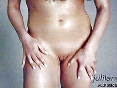 誘惑, 裸, 美少女, ストリップ, フレッシュギャル, 女性オナニー