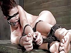 роби, момичета, доминация, бондаж, грубо, унижение